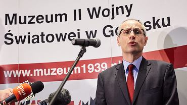 Były dyrektor Muzeum II Wojny Światowej Paweł Machcewicz