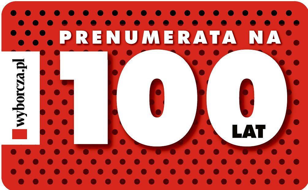 Prenumerata Wyborcza.pl na 100 lat / mat.pras.