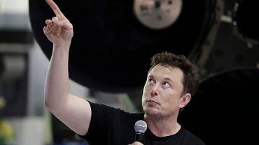 Założyciel firmy SpaceX Elon Musk