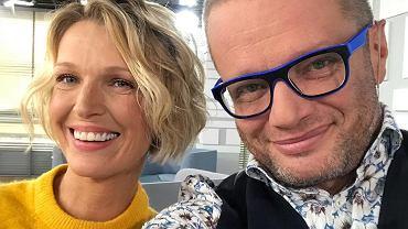 Magda Mołek i Marcin Meller w 'DD TVN'