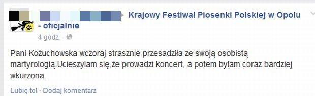 Facebook.com/FestiwalWOpolu