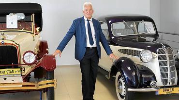 Kolekcja zabytkowych samochodów i jej właściciel - Marcin Kus