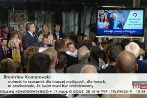 Wybory prezydenckie 2015. Komorowski ogłasza nowe hasło wyborcze