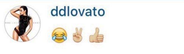 Komentarz Demi Lovato