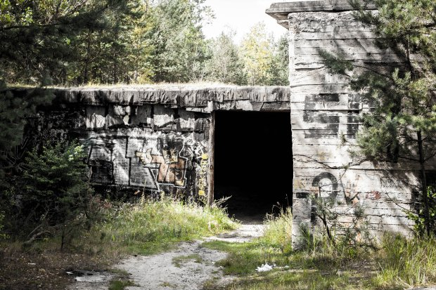 Wejście do ogromnej hali, czyli Obiektu nr 3