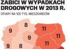 """Jazda polska"", czyli korki i korkociągi"