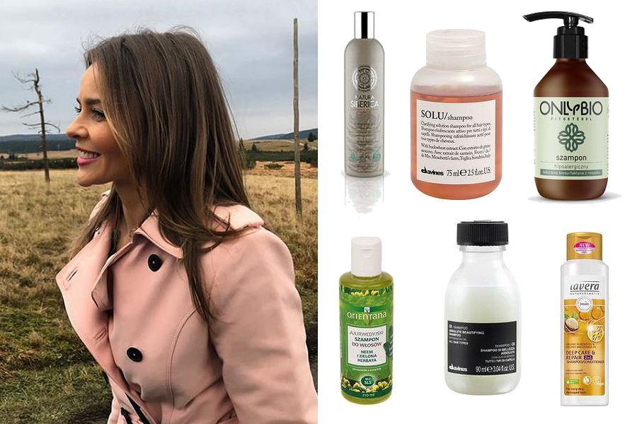 Kolaż, wegańskie szampony do włosów/Materiały partnera