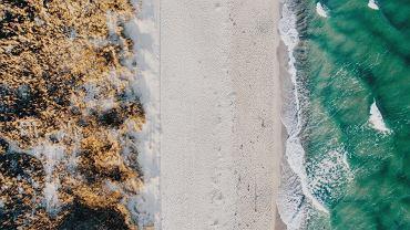 Plaża, Hel.