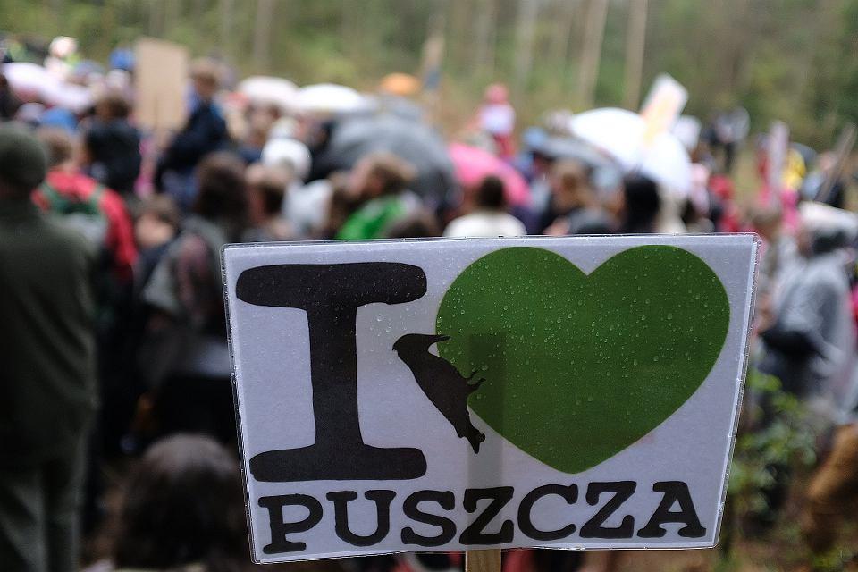 Stara Białowieża, spacer w obronie Puszczy Białowieskiej