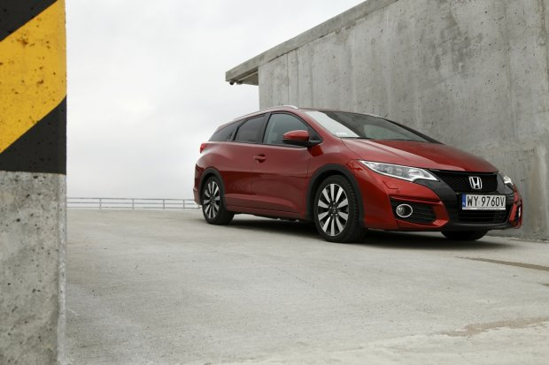Honda Civic Tourer 1.6 i-DTEC Lifestyle | Test | Transporter