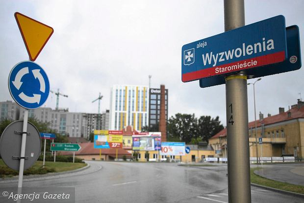 Zmiany nazw ulic w Rzeszowie. Władysław Bartoszewski przegrał z ks. Czuchrą