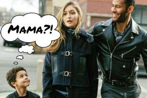 Gigi Hadid matką siedmiolatka w kampanii Versace