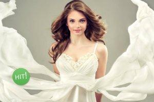 Rozkloszowana sukienka: czy to dobry wyb�r na wesele?