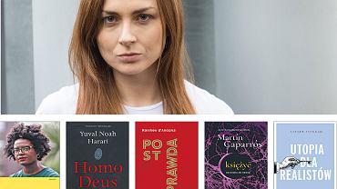 Katarzyna Wężyk poleca książki