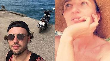 Reni Jusis i Tomek Makowiecki na wakacjach