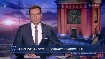 'Wiadomości' TVP na 4 czerwca. Krzysztof Ziemiec zapowiada reportaż o zdradzie