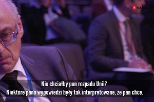 Słowna gimnastyka europosła PiS. Co profesor Krasnodębski mówił o Unii i referendum w sprawie Polexitu, a co mówi teraz
