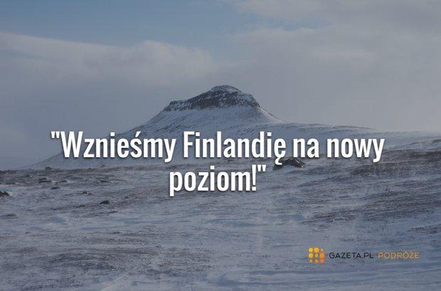 Norwegowie chc� da� Finlandii g�r�. To prezent z okazji rocznicy jej niepodleg�o�ci