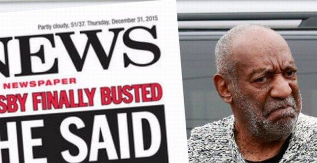 Bill Cosby oskar�ony o molestowanie seksualne