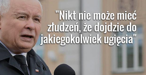 Prezes PiS Jaros�aw Kaczy�ski