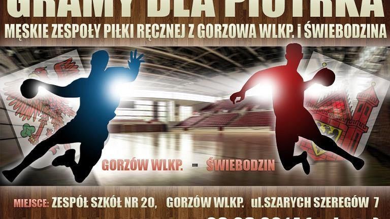 Plakat turnieju charytatywnego w Gorzowie