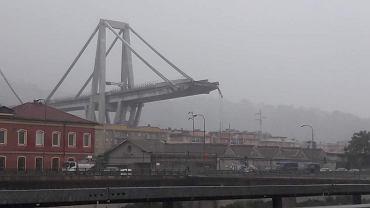 Zawalił się wiadukt w Genui