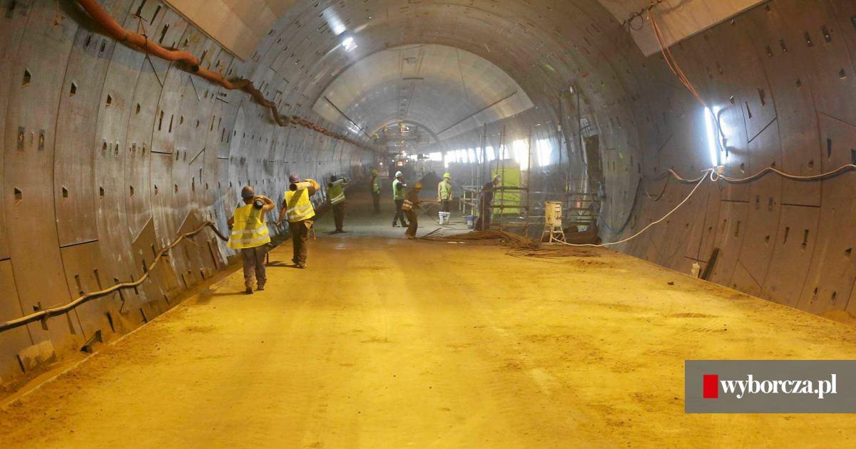 Tunelami Pod Martwą Wisła Pojedziemy Dopiero W Kwietniu 2016