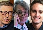 Najbogatsi ludzie �wiata wg Forbes 2015. Razem zebrali ponad 7 bilion�w dolar�w. Polak dopiero na 418. miejscu