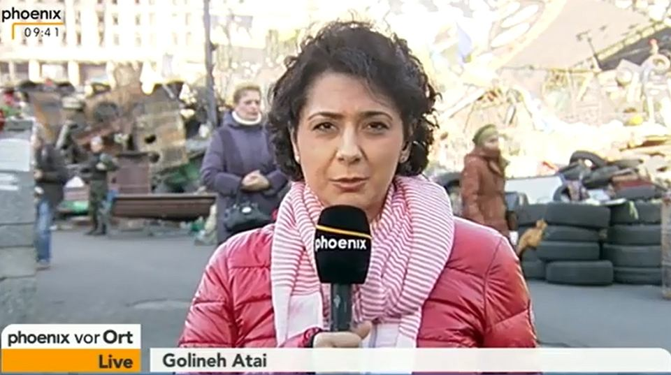 Golineh Atai doceniono za materiały z wojny na Ukrainie