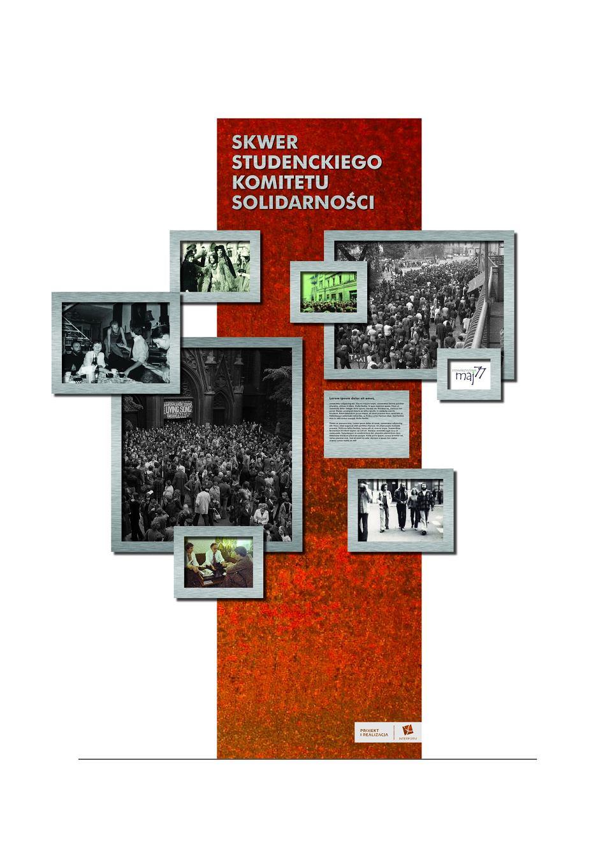 Projekt postumentu na cześć SKS-u