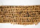 Papirus, w kt�rym Jezus m�wi o swojej �onie, jest autentyczny