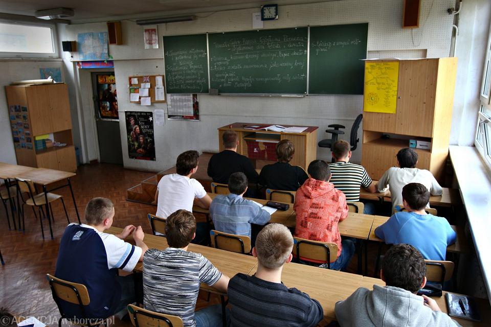 Katecheza w liceum w Łodzi