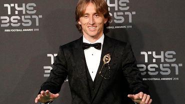 Luka Modrić najlepszym piłkarzem FIFA