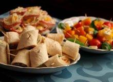 Tortilla z �ososiem - ugotuj