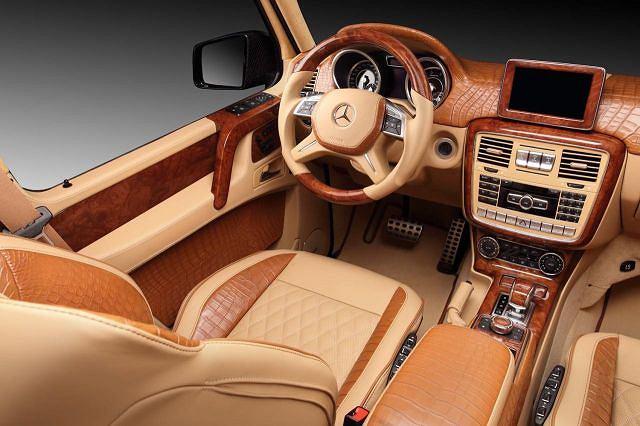 Hamann Mercedes-Benz G65 AMG z wnętrzem TopCar