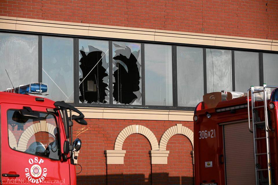 6ccce25ab634d Zdjęcie numer 4 w galerii - Pożar w CH Ptak. 20 zastępów straży pożarnej w