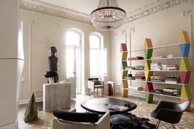 Zdjęcie numer 8 w galerii - Wnętrza: mieszkanie w warszawskiej kamienicy