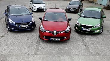Clio, 208, Yaris, Fabia i Polo | Konfrontacja