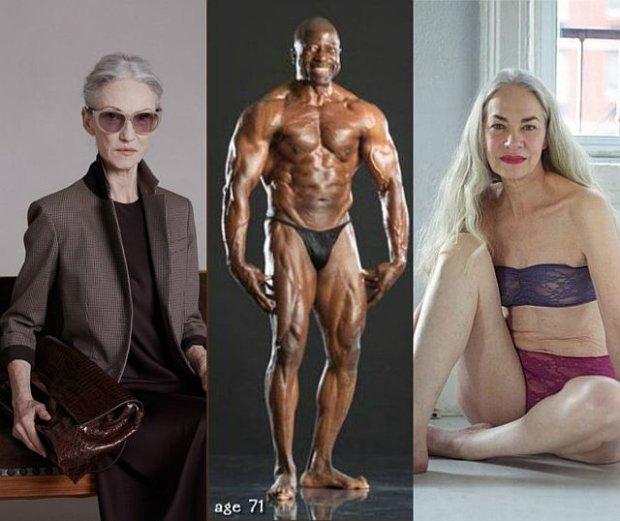 Sexy seniorzy: panie emanuj� urod�, dziarscy panowie imponuj� zdrowiem