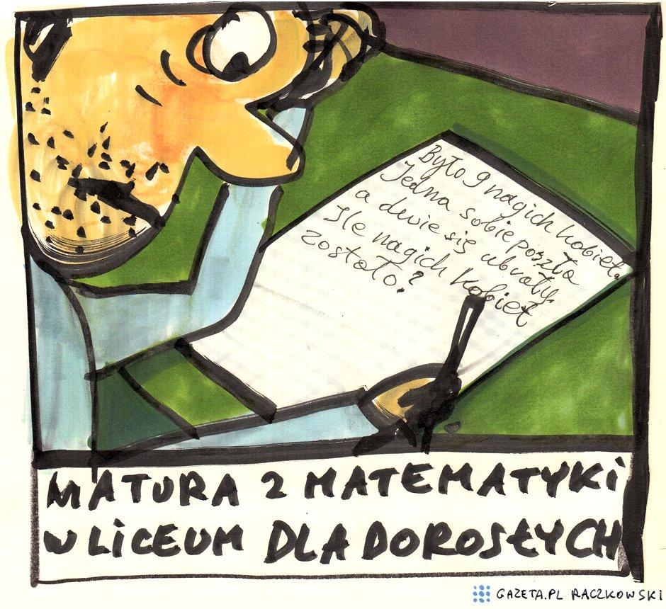 Marek Raczkowski dla Gazeta.pl - 02.07.2014 - rys. Marek Raczkowski