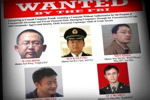 FBI pokaza�o twarze pi�ciu cyberszpieg�w z chi�skiej armii