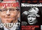 """Kaczyński przebrany za Dudę: """"Fałszerstwo wyborcze"""". Mocne okładki po wyborach"""