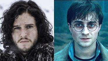 Jon Snow i Harry Potter, 'Gra o tron' prod. HBO, 'Harry Potter' prod. Warner Bros