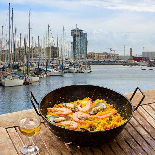 owoce morza tylko w barcelonie