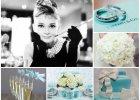 """�lubne inspiracje: wesele w stylu """"�niadania u Tiffany'ego"""""""