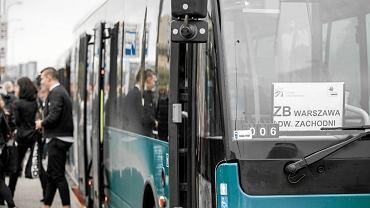 Remont linii kolejowej do Grodziska Maz. Autobusy zastępcze w Al. Jerozolimskich