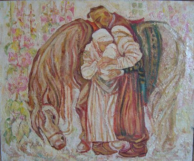''Odjazd Kozaka'', obraz Michaiła Cziornego. Złote lata Rzeczpospolitej Obojga Narodów niekoniecznie były takimi dla Ukraińców