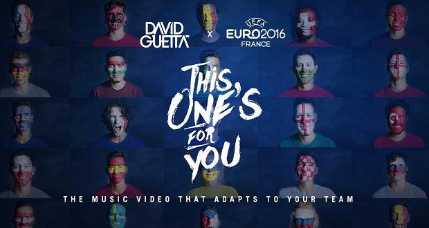 """""""This One's For You Poland"""", to nowy teledysk Davida Guetty. Muzyk występuje w nim z pomalowanymi na biało-czerwono policzkami, naśladując polskich kibiców piłki nożnej."""