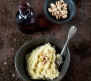 Pur�e z selera z pistacjami