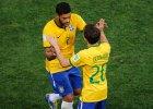 Brazylia - Niemcy. Bernard za Neymara